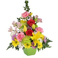 Daisies And Such Mix of Daisies, Roses, Mums, Lilies and More!