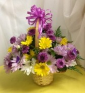 Daisy Basket Just Because