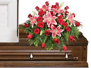 DEDICATION OF LOVE Funeral Flowers in Honesdale, PA | BOLD'S FLORIST,GARDEN CENTER & GIFT SHOP
