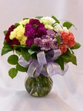 DELIGHTFUL GEM - Carnations Flowers PG BC