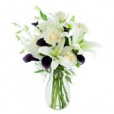 White Roses and Lilies