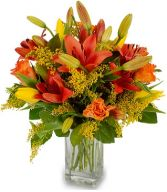DRAGONFIRE FLOWERS  BOUQUET in Clarksburg, MD | GENE'S FLORIST & GIFT BASKETS