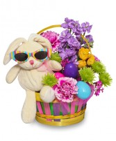 EASTER BUNNY BOUQUET Easter Flowers in Prospect, CT | MARGOT'S FLOWERS & GIFTS