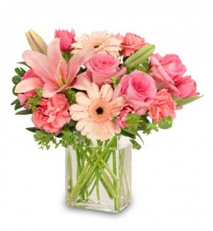 EFFLORESCENCE Flower Arrangement in Midland, NC | LITTLE'S FLOWER SHOP
