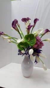 Elegant Lady Modern Arrangement