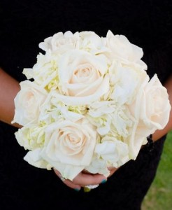 ELEGANT WHITE  Bridesmaids Bouquet in Riverside, CA | Willow Branch Florist of Riverside
