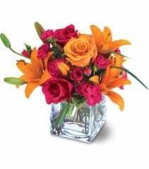 Elegantly Chic Colorful Mixed Bouquet
