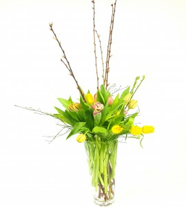 Exotic Holland Tulips & Almond Branches 36