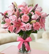 Expression of Pink Romance