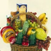 Fruit and Gourmet Basket (Fruit and Gourmet may vary than what is pictured)