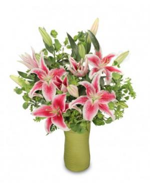 Fair As A Lily Bouquet in Richland, WA | ARLENE'S FLOWERS AND GIFTS