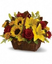 All About Fall Basket