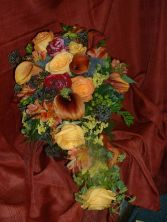 FALL CASCADE  Bride's Bouquet in East Hampton, CT | ESPECIALLY FOR YOU