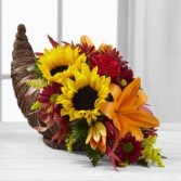 FALL CORNICOPIA Arrangement in Springfield, MO | BLOSSOMS
