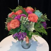 Wedding-Fall Flair wedding bouquet Custom Design. Please call for appointment