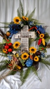 Farmer Wreath Silks