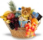 FEEL BETTER SOON FRUIT & GOURMET BASKET in Clarksburg, MD | GENE'S FLORIST & GIFT BASKETS