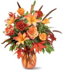 Festival of Fall Mixed Flowers