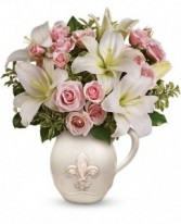 FLEUR-DE-LIS OF LOVE Arrangement in Springfield, MO | BLOSSOMS