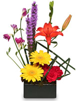 FLORAL FINESSE Arrangement in Hillsboro, OR | FLOWERS BY BURKHARDT'S
