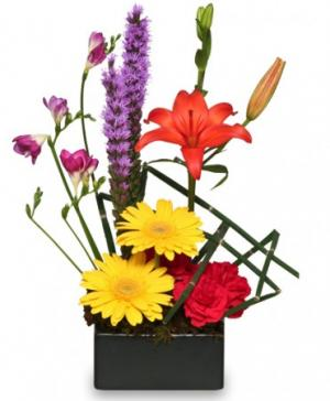 Floral Finesse Arrangement in Milwaukie, OR | MARY JEAN'S FLOWERS & GIFTS