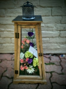 Floral lantern in Brampton, ON | STEMS FLORAL STUDIO