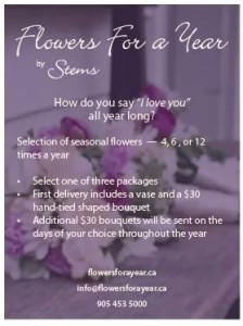 Flowers For A Year  in Brampton, ON | STEMS FLORAL STUDIO