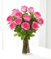 FOR MY SWEETHEART! 1 DZ LONGSTEM PINK ROSES!