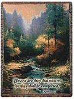For They Shall Be Comforted Sympathy Tapestry