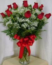 You're Always On My Mind One Dozen Long Stem Roses