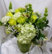 Fresh and Green Vase