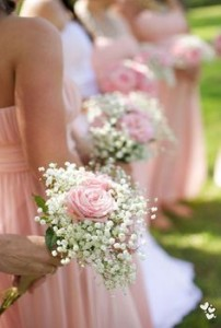 Frilly & Sweet Bridesmaid  Bouquets