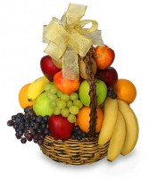 BTS 4-Fruit basket All fruit or Fruit and Gourmet Basket