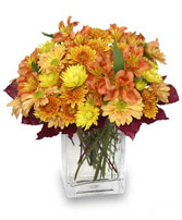 AMBER WAVES Arrangement in East Hampton, CT | ESPECIALLY FOR YOU