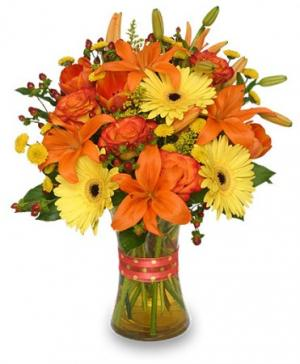 Flor-Allure Bouquet of Summer Flowers in Huxley, IA | CHICKEN SHED PRIMITIVES