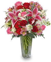 ETERNALLY YOURS Flower Arrangement Best Seller in Pembroke, MA | CANDY JAR AND DESIGNS IN BLOOM
