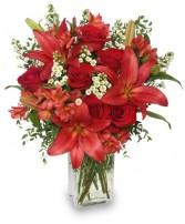 ROMANCER ENHANCER Bouquet Best Seller in Burton, MI | BENTLEY FLORIST INC.