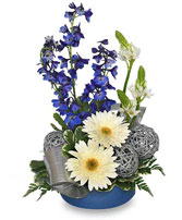 SILVER BELLS Arrangement in Bracebridge, ON | CR Flowers & Gifts ~ A Bracebridge Florist