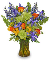 FLORAL STUNNER Bouquet of Flowers in Wheatfield, IN | STEMS N' SUCH