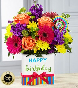 FTD Birthday Brights  in Stafford, VA | Anita's Beautiful Flowers