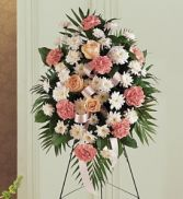 Gentle Thoughts Funeral Flowers