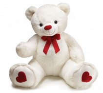 Giant Plush Valentine Bear!
