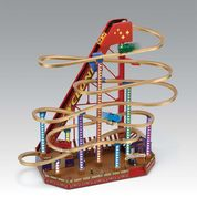 Grand Roller Coaster Illuminated Musical Gift
