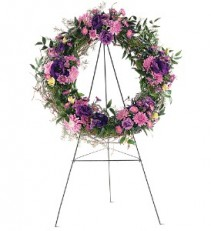 Grapevine Wreath Standing Easel