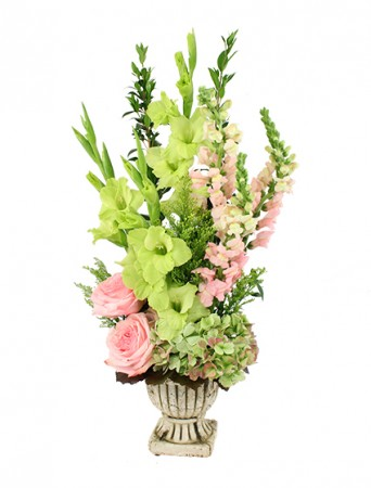 Grecian Green Arrangement