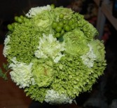 Greens and Whites Wedding Bouquets in Bracebridge, ON | CR Flowers & Gifts ~ A Bracebridge Florist