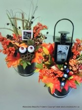 Halloween Live Forever Flowers Custom Holiday Silk Flowers