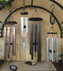 Hammered Metal Windchimes