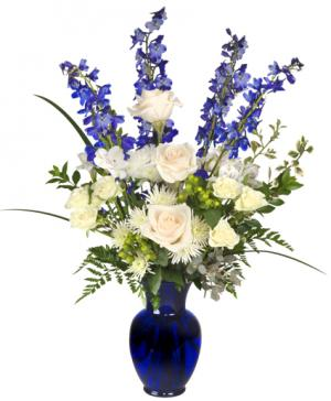HANUKKAH MIRACLES Floral Arrangement in Sallisaw, OK | Violet's Flowers & Gifts