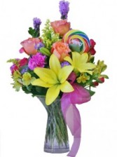 HAPPY BIRTHDAY BOUQUET of Flowers